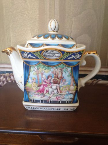 Staffordshire Teapot Midsummer Night's Dream