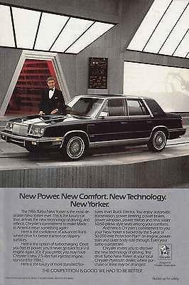 1986 Chrysler New Yorker: Ricardo Montalban (7228)