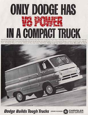 1966 Dodge Compact Truck: V8 Power (20872)