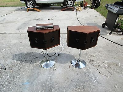 vintage bose speakers  ( not tested )