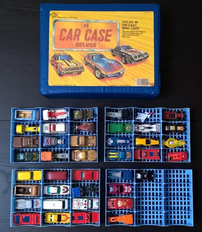 1970's and 1980's Hot Wheels, Matchbox, Kenner, Ertl Toy Vehicles w/ Tara Case!