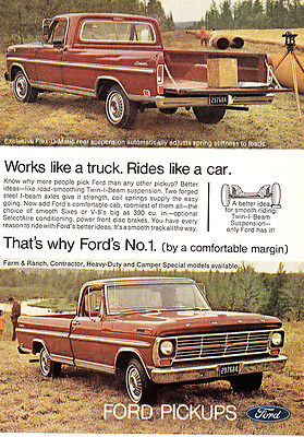1968 Ford: Works Like a Truck, Rides Like a Car (24020)