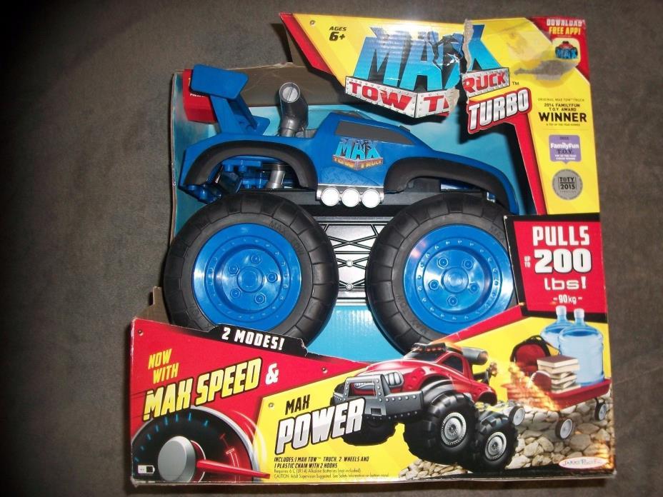 MAX Tow Truck Turbo, Blue Jakks Pacific