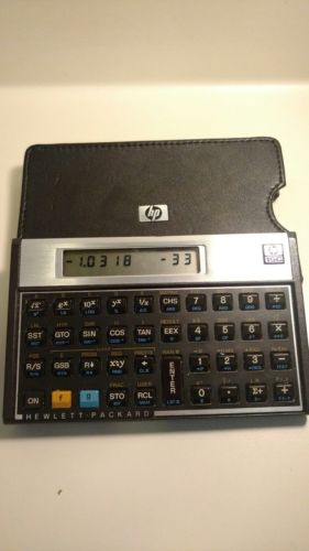 HP 15C Calculator (vintage 1980's) MADE IN U.S.A.~Works excellent
