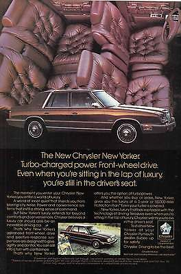 1987 Chrysler New Yorker: Turbo Charged Power (9835)