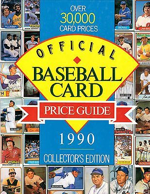 1990 Official Baseball Card Price Guide Collectors, Topps Fleer Score