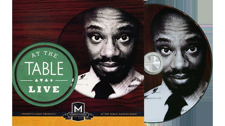 At the Table Live Lecture Marcus Eddie - DVD - Magic Tricks