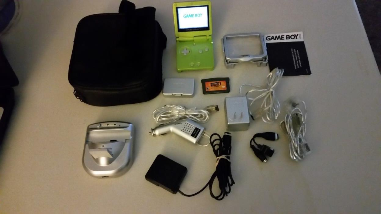 Nintendo Game Boy Advance SP & Accessories
