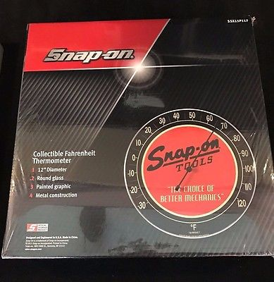 NIB Collectible Snap-on Tools Vintage Style Thermometer