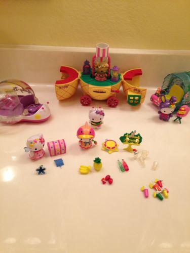 Lot Of Hello Kitty Playset Figures