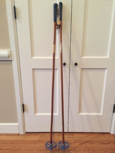 Bamboo Ski Poles 51