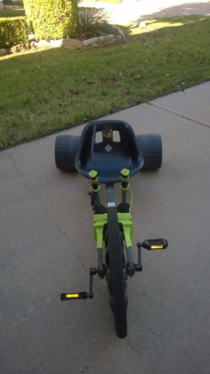 Huffy 20-Inch Tire Green Machine Tricycle