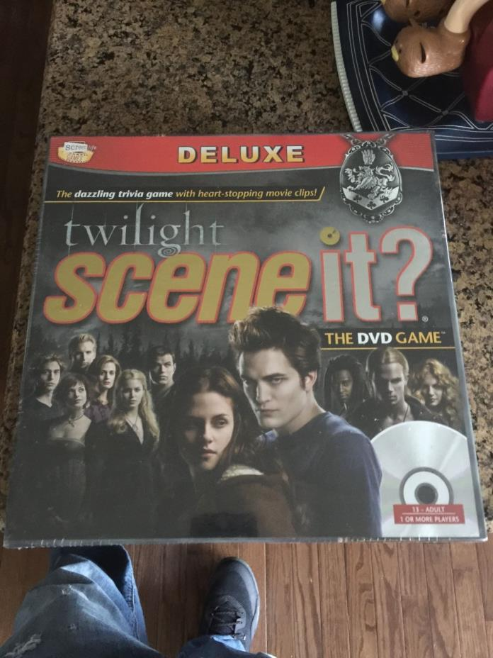 Twilight Scene It? The DVD Game Deluxe Edition New Factory Sealed