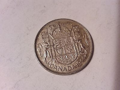 1944 - 50 CENT CANADA COIN