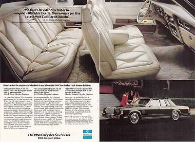 1980 Chrysler New Yorker Fifth Avenue: Compete with Buick (21053)