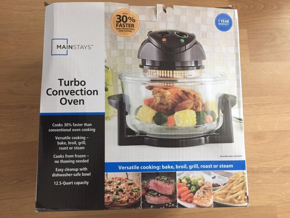 Brand New-Mainstay Turbo Convection Oven, 12.5 Qt