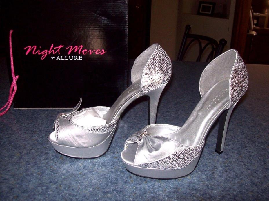 Night Moves by Allure Starlight pumps shoes silver  4