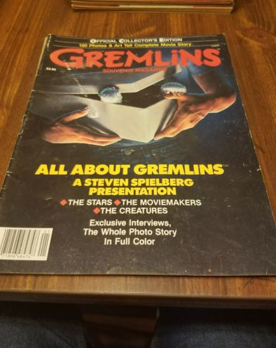 gremlins souvenir magazine