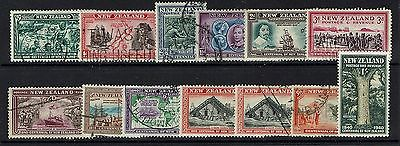 New Zealand SG# 613 - 625 - Mint / Used (See Notes) - Lot 041617
