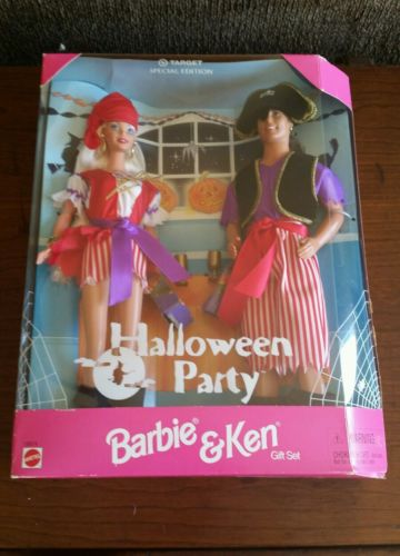 Barbie & Ken Halloween Party Gift Set  New in Box