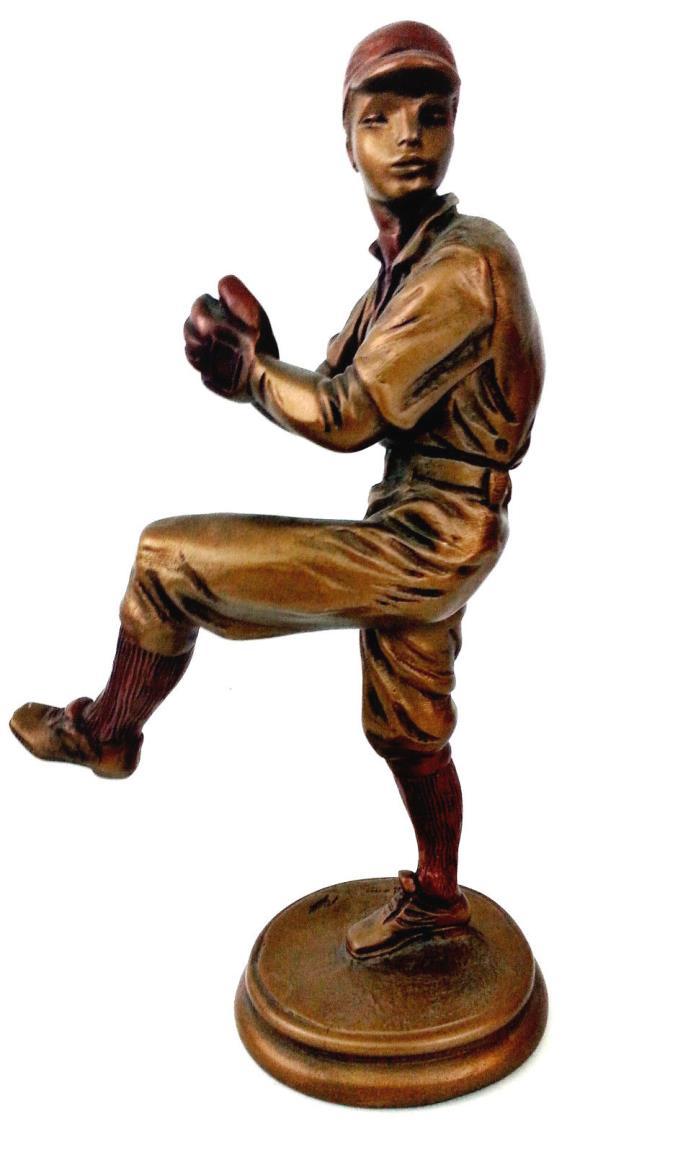 Vintage Austin Sculpture Collection: The Knuckleballer ~ 1980s Baseball
