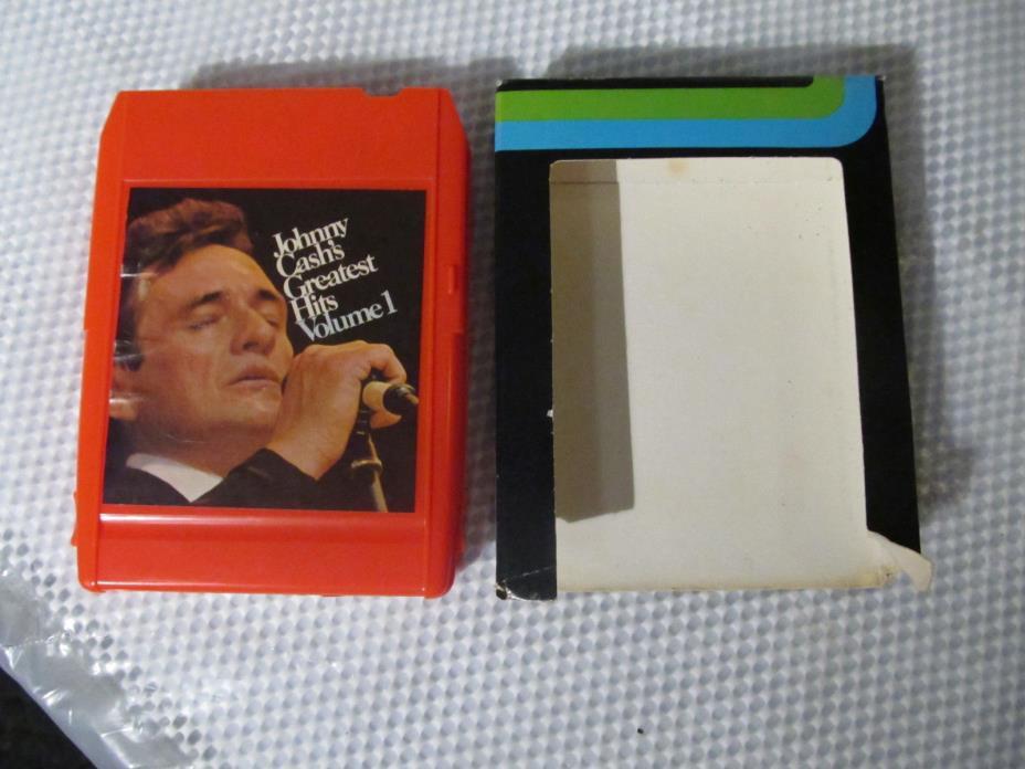 Johnny Cash's Greatest Hits Volume 1 Columbia TC8 8 Track 18100264
