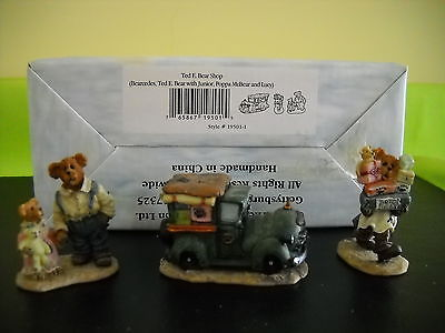 BOYDS VILLAGE ACCESSORY TED E. BEAR SHOP STYLE #19501-1 W/BOX #14