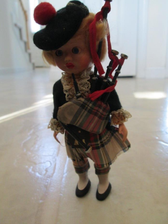 Vintage Scottish Irish Doll 6.5
