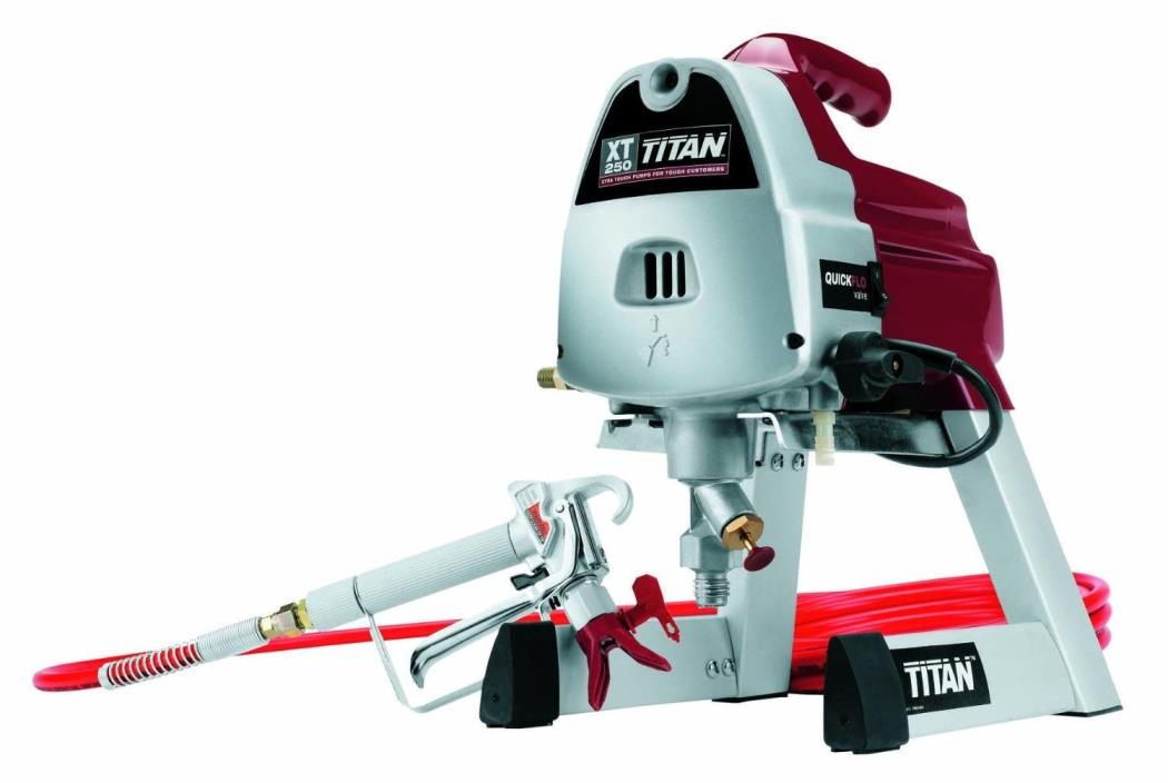 Titan airless paint sprayer for sale classifieds for Paint sprayers for sale