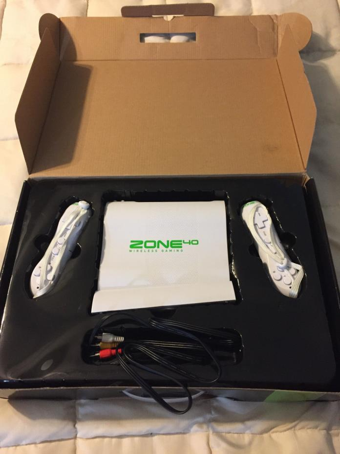 ZONE40 ZONE 40 WIRELESS GAMING PLUG & PLAY INTERFACE WIRELESS GAMING CONSOLE