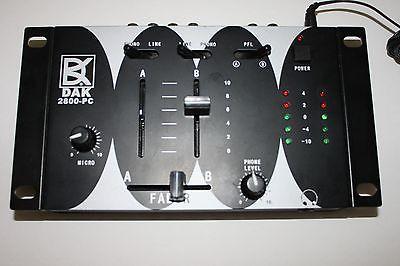 DAK 2800 PC LP/TAPE to CD/MP3 Interface Mixer
