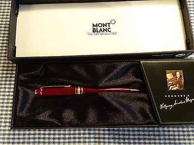 MONTBLANC MOZART BORDEAUX 0.7MM PENCIL 117R