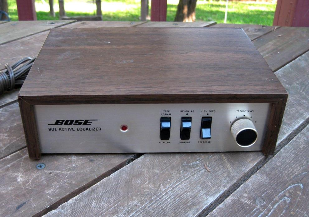 VERY RARE BOSE 901 ACTIVE EQUALIZER EQ SERIES II