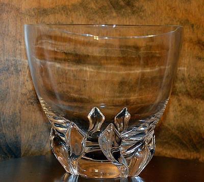 Vtg Steuben Glass # 8091 Vase / Bowl Donald Pollard no box - excellent condition