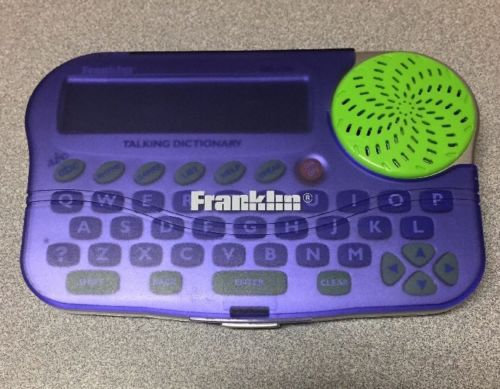 Franklin KID 1240 Childrens Talking Dictionary and Spell Corrector Check