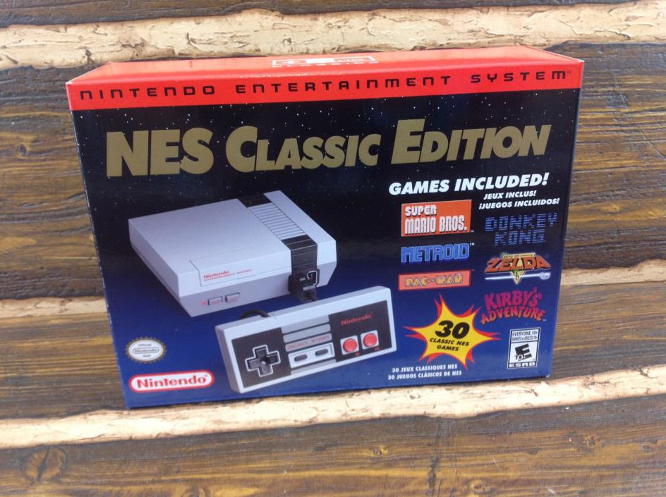 Nintendo NES Classic Edition Console In Hand Sold out Everywhere Fast Shipping!!
