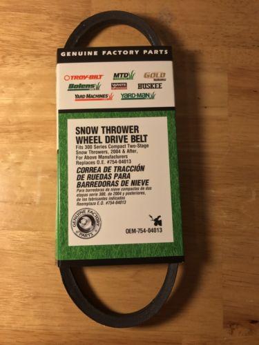 NIB - MTD OEM-754-04013 300 Series Snow Thrower Drive Belt
