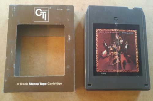 Nine Lives by Reo Speedwagon  8 track tape tested w/sleeve