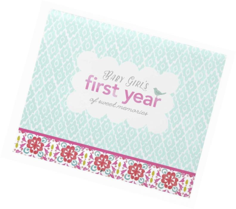 C.R. Gibson First Year Calendar, By Carter's, Stickers Provided,