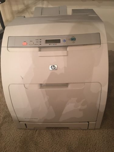 HP Color LaserJet 3000dn Workgroup Laser Printer Q7535A - Network Duplex