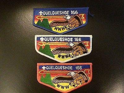 3 Different Quelqueshoe Lodge 166 OA Flaps