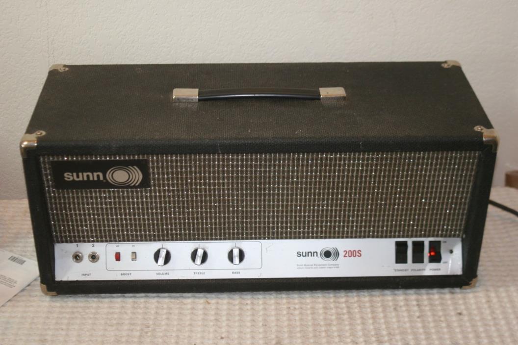 sunn guitar amp for sale classifieds. Black Bedroom Furniture Sets. Home Design Ideas
