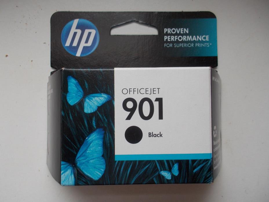 Genuine HP 901 black ink cartridge (CC653AN) Exp. 2018