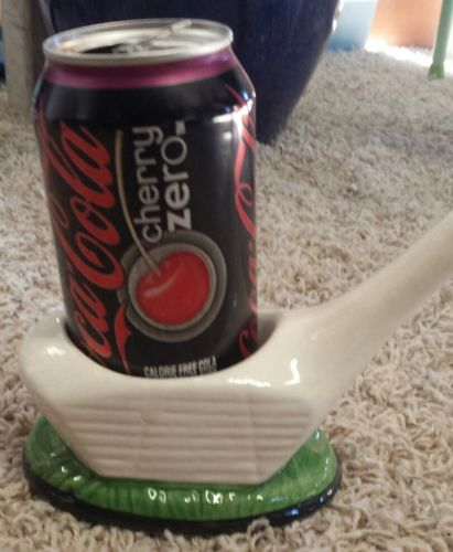 golf cup holder ceramic