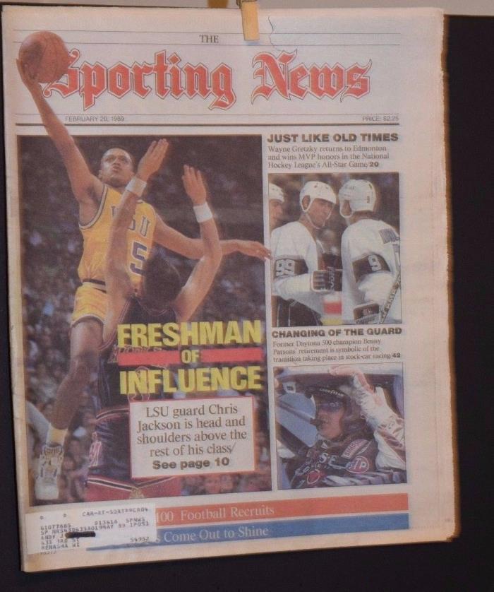 The Sporting News Magazine February 20 1989