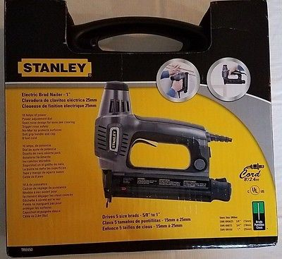 NEW & SEALED! Stanley TRE650 - Electric Brad Nailer - 1