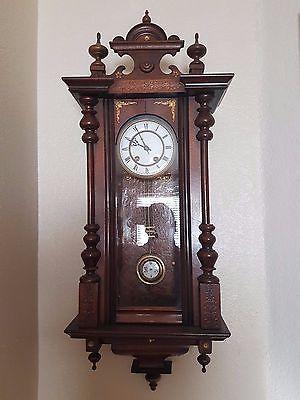 Gorgeous Antique German  Wall Clock
