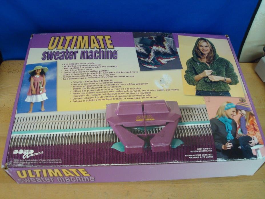 Bond America Ultimate Knitting Sweater Machine.