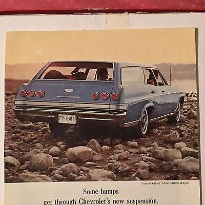 1966 Chevrolet Impala Station Wagon Vintage Ad