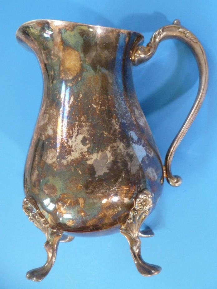Vintage Silver Plated Water Pitcher by Sheridan
